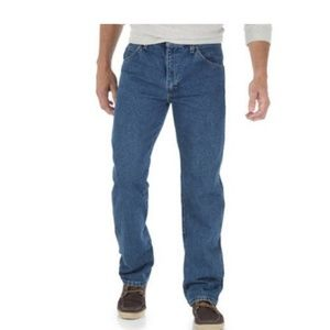 Wrangler Straight Fit 100% Cotton Jeans